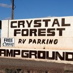 Crystal forest gift shop campground