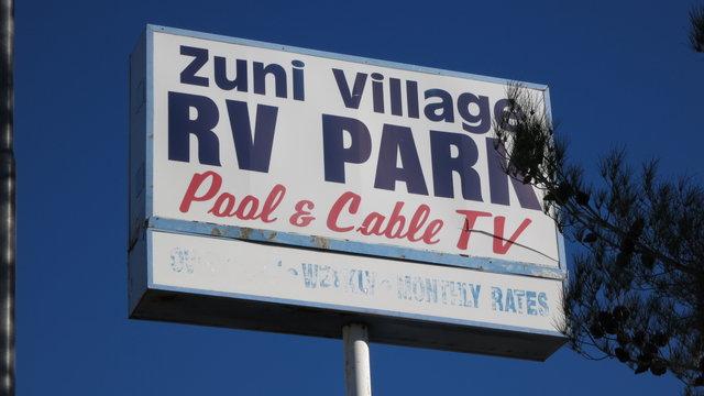 Zuni village rv park