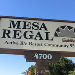 Mesa regal rv resort
