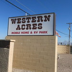 Western acres mobile home rv park