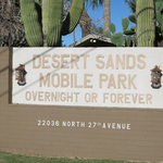 Desert sands rv park phoenix