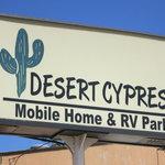 Desert cypress mobile home rv park