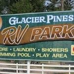 Glacier pines campground
