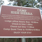 Camp high sierra