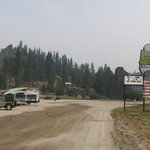 Lolo hot springs rv park campground