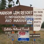 Madison arm resort