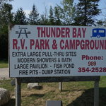 Thunder bay rv park campground