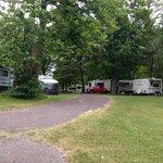 Alpine campground