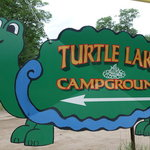 Turtle lake campgrounds