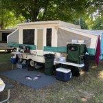 Woodchip campground