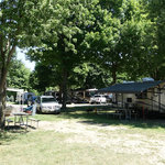 Woodchip campground