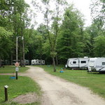 Dune family lake campground