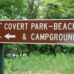 Covert park beach campground