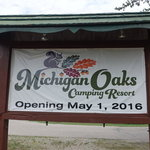 Michigan river camping resort