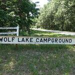 Wolf lake resort campground
