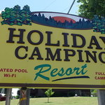 Holiday camping resort