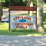 Spaulding lake campground