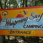Whispering surf camping resort