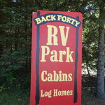 Back forty rv park campground