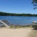 Crystal lake campground scottville mi