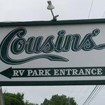 Cousins restaurant rv park
