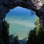 Castle rock lakefront mackinac trail campground
