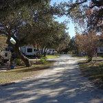 Beech camper mobile home park