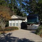 Heritage motorcoach and marina