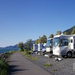 Waterfront park campground