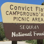 Convict flat campground