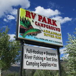 Arkansas river rim campground