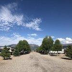 Mountain views at riversedge rv resort