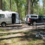 Woods and river rv park