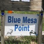 Blue mesa point