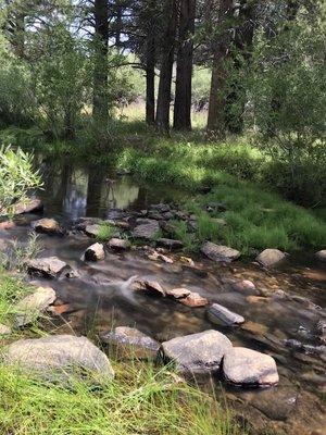 Fish creek california campground