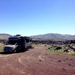 Fossil falls campground