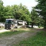 Mini mountain campground