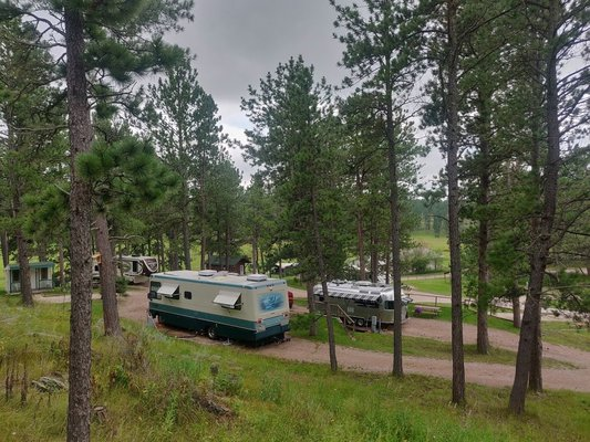 Beaver lake campground south dakota