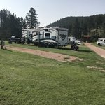 Whispering pines campground cabins