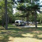 Little bay de noc campground