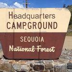 Headquarters campground sequoia nf