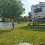 A motel and rv park