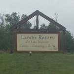 Lambs resort on lake superior