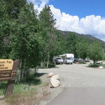 Lower honeymoon flat campground