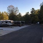 Campground at barnes crossing