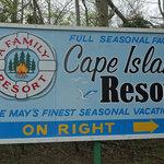 Cape island resort