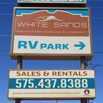 White sands manufactured home rv community