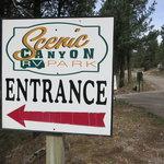 Scenic canyon rv park