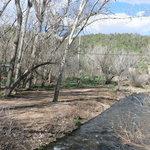Along the river rv park