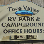 Taos valley rv park campground